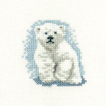 HC1062 - Polar Bear Cub- Little Friends by Valerie Pfeiffer